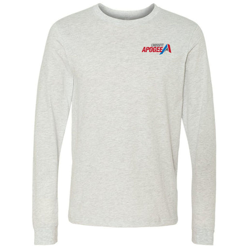 Crossfit Apogee - 100 - Pocket - Bella + Canvas 3501 - Men's Long Sleeve Jersey Tee
