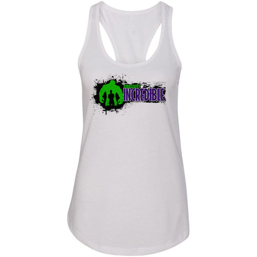 CrossFit Incredible - 100 - Horizontal - Next Level - Women's Ideal Racerback Tank