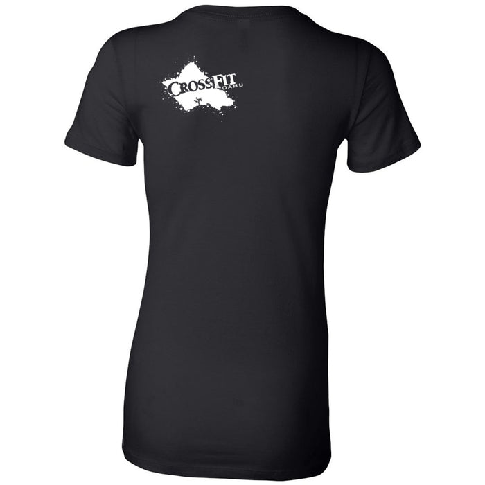 CrossFit Oahu - 200 - Awesome! - Bella + Canvas - Women's The Favorite Tee