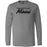 Reebok CrossFit Miami Beach - 100 - Black - Bella + Canvas 3501 - Men's Long Sleeve Jersey Tee