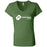 CrossFit PA - 100 - Standard - Bella + Canvas - Women's Short Sleeve Jersey V-Neck Tee