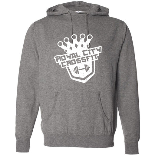 Royal City CrossFit - 100 - Tilted - Independent - Hooded Pullover Sweatshirt
