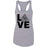 Grand Trunk CrossFit - 100 - LOVE - Next Level - Women's Ideal Racerback Tank