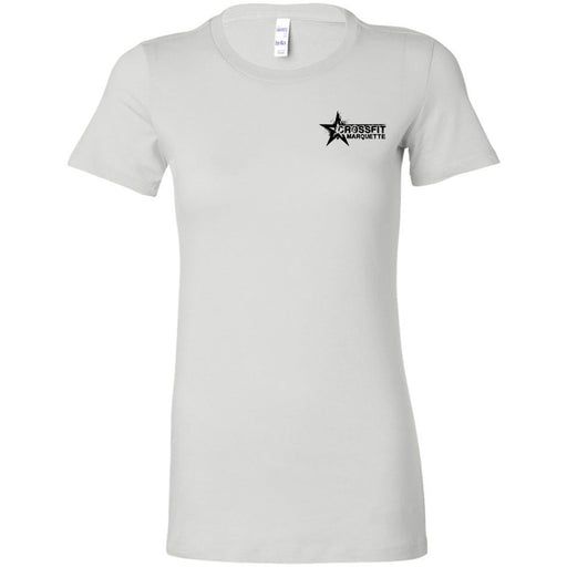 CrossFit Marquette - 200 - Pocket Size - Bella + Canvas - Women's The Favorite Tee