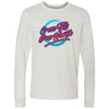CrossFit Due North - 100 - 80s - Bella + Canvas 3501 - Men's Long Sleeve Jersey Tee