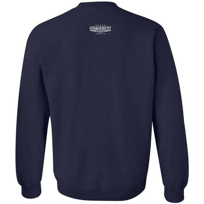 CrossFit Pandemic - 201 - Gray - Gildan - Heavy Blend Crewneck Sweatshirt