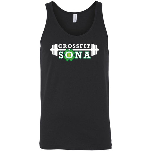 CrossFit Sona - 100 - Standard - Bella + Canvas - Men's Jersey Tank
