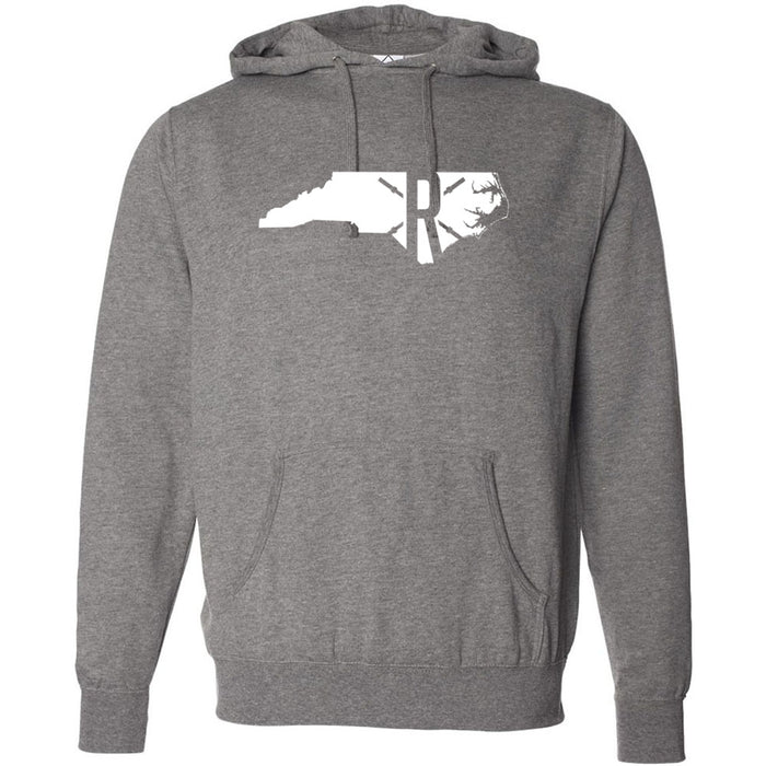CrossFit Rolesville - 201 - State - Independent - Hooded Pullover Sweatshirt