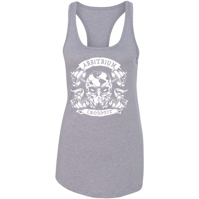 Arbitrium CrossFit - 100 - Strong People - Next Level - Women's Ideal Racerback Tank