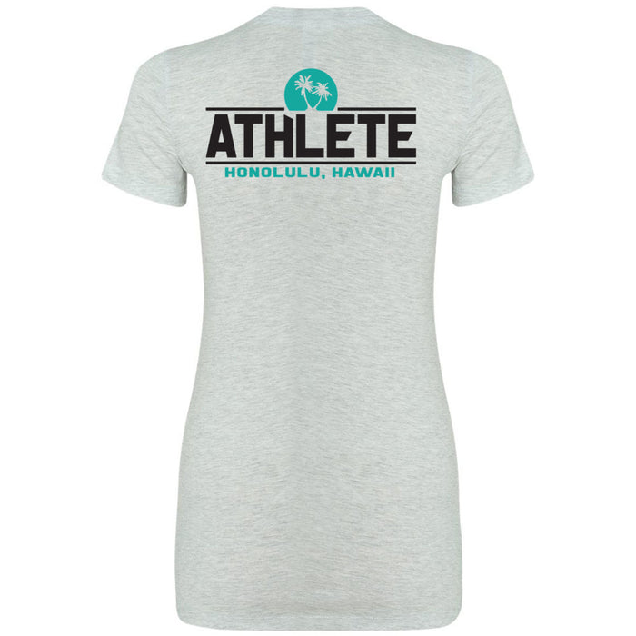 CrossFit Oahu - 200 - Sunrise - Bella + Canvas - Women's The Favorite Tee