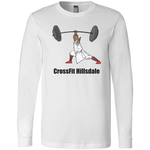 CrossFit Hillsdale - 100 - Monk - Bella + Canvas 3501 - Men's Long Sleeve Jersey Tee