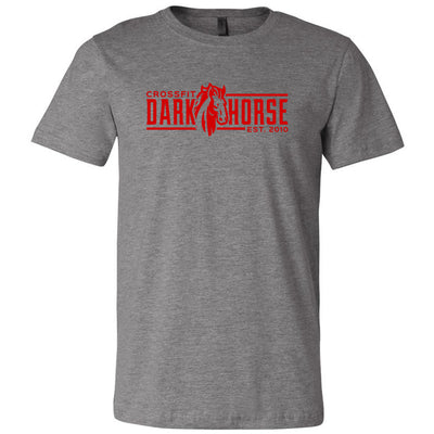 CrossFit Dark Horse - 100 - CDH - Bella + Canvas - Men's Short Sleeve Jersey Tee