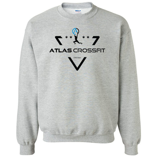 Atlas CrossFit - 100 - Crest - Gildan - Heavy Blend Crewneck Sweatshirt