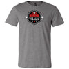 CrossFit Visalia - 100 - Barbell - Bella + Canvas - Men's Short Sleeve Jersey Tee