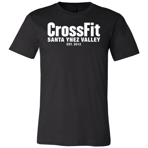 CrossFit Santa Ynez Valley - 200 - Est - Bella + Canvas - Men's Short Sleeve Jersey Tee