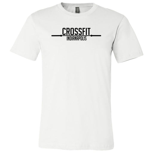 CrossFit Indianapolis - 100 - Barbell - Bella + Canvas - Men's Short Sleeve Jersey Tee