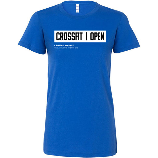 CrossFit Waukee - 100 - The Open (Open Box) - Bella + Canvas - Women's The Favorite Tee