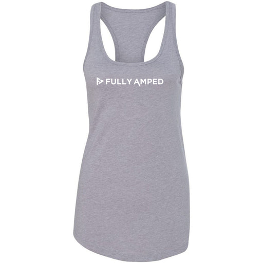 Fully Amped - 100 - Ver 3 - Next Level - Women's Ideal Racerback Tank