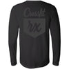 CrossFit Rx - 202 - Cursive - Bella + Canvas 3501 - Men's Long Sleeve Jersey Tee
