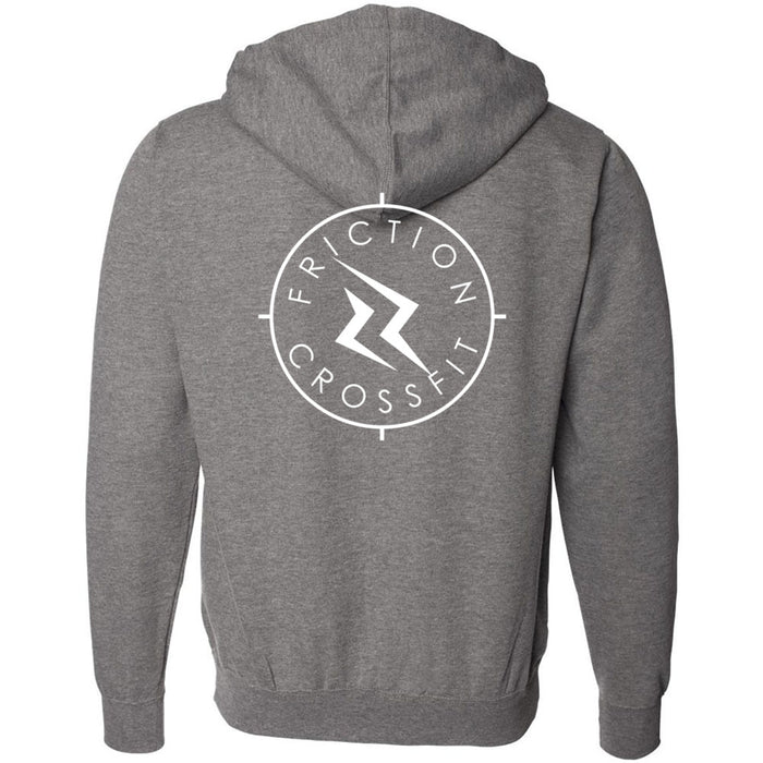 Friction CrossFit - 201 - Target 2 Sides - Independent - Hooded Pullover Sweatshirt