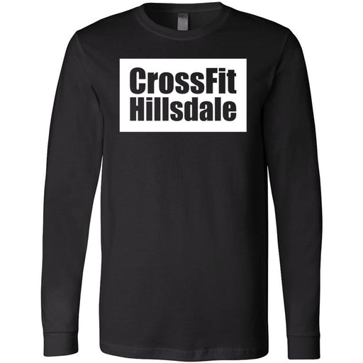 CrossFit Hillsdale - 100 - Standard - Bella + Canvas 3501 - Men's Long Sleeve Jersey Tee