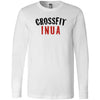 CrossFit Inua - 100 - Standard - Bella + Canvas 3501 - Men's Long Sleeve Jersey Tee