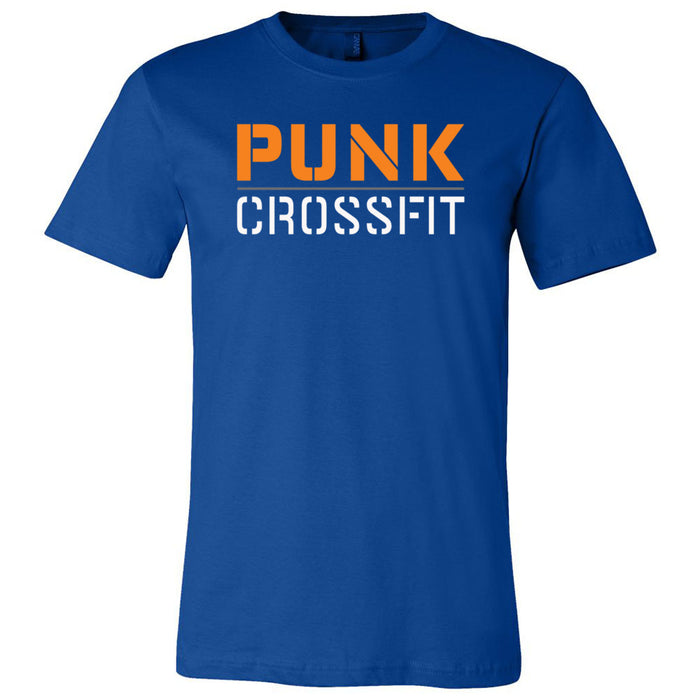 Punk CrossFit - 100 - Stacked - Bella + Canvas - Men's Short Sleeve Jersey Tee