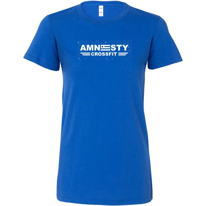 Amnesty CrossFit - Distressed - Bella + Canvas - Women's The Favorite Tee