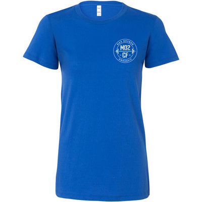 Max Oxygen CrossFit - 100 - Pocket - Bella + Canvas - Women's The Favorite Tee