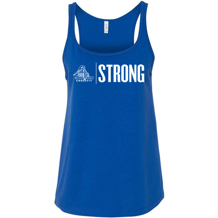 Grand Trunk CrossFit - 100 - Strong - Bella + Canvas - Women's Relaxed Jersey Tank