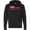 CrossFit Oahu - 201 - Pearl City Red - Independent - Hooded Pullover Sweatshirt