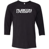 Rubicon CrossFit - 100 - Standard - Bella + Canvas - Men's Three-Quarter Sleeve Baseball T-Shirt