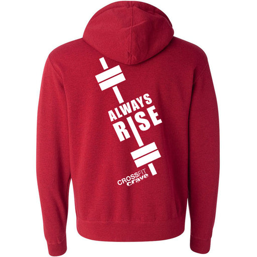 CF Crave - 201 - #Always Rise - Independent - Hooded Pullover Sweatshirt