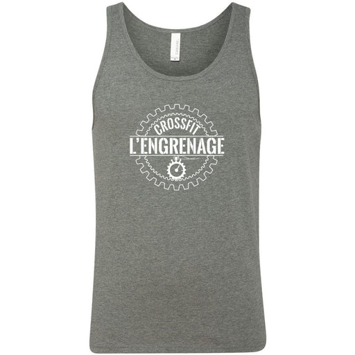 CrossFit L'Engrenage - 100 - Standard - Bella + Canvas - Men's Jersey Tank