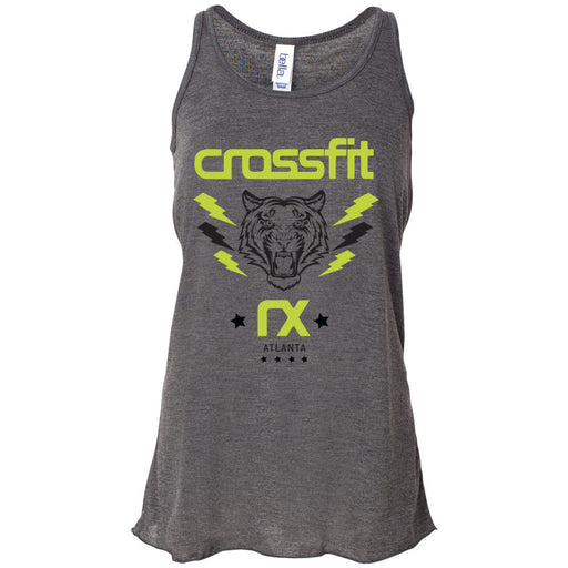 CrossFit Rx - 100 - Tiger - Bella + Canvas - Women's Flowy Racerback Tank