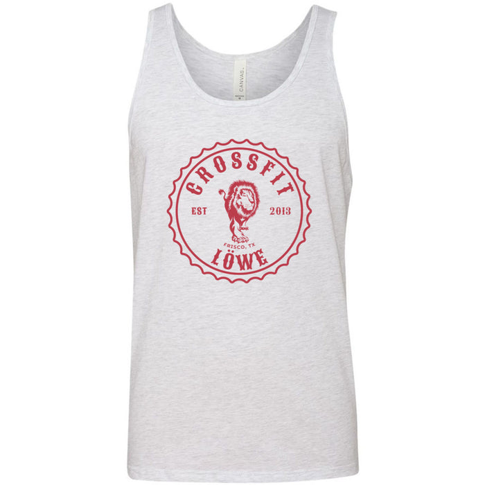 CrossFit Lowe - 100 - Crafted 07 - Bella + Canvas - Men's Jersey Tank