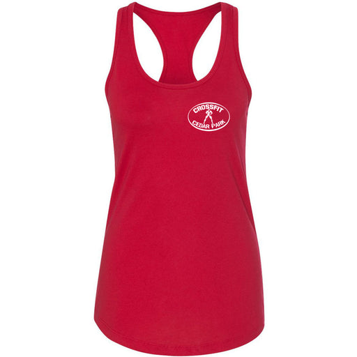 CrossFit Cedar Park - 100 - Pocket - Next Level - Women's Ideal Racerback Tank