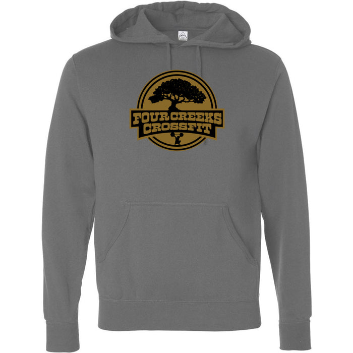 Four Creeks CrossFit - 100 - Standard - Independent - Hooded Pullover Sweatshirt