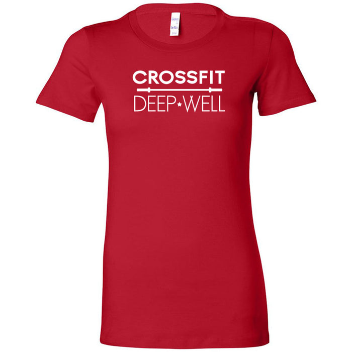 CrossFit Deep Well - 100 - CFDW - Bella + Canvas - Women's The Favorite Tee