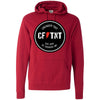 CrossFit TNT - 100 - Badge - Independent - Hooded Pullover Sweatshirt
