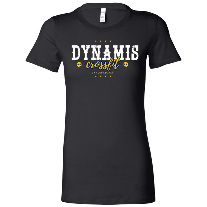 Dynamis CrossFit - 100 - Pistol Grip Pump - Bella + Canvas - Women's The Favorite Tee