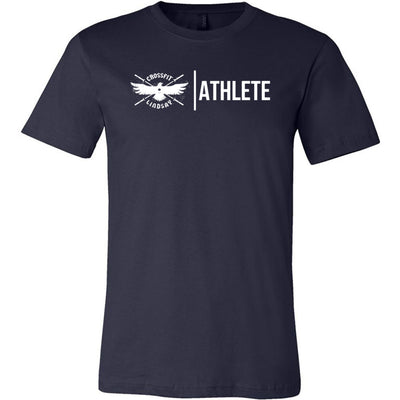 CrossFit Lindsay - 100 - Athlete - Bella + Canvas - Men's Short Sleeve Jersey Tee