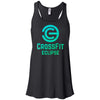 CrossFit Eclipse - 100 - Summer - Bella + Canvas - Women's Flowy Racerback Tank