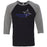 Precision CrossFit - 202 - Precision - Bella + Canvas - Men's Three-Quarter Sleeve Baseball T-Shirt