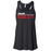 CrossFit Oahu - 100 - Pearl City Red - Bella + Canvas - Women's Flowy Racerback Tank
