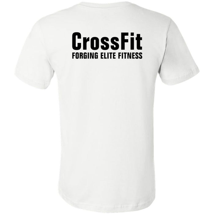 CrossFit Timaru - 200 - Barbell - Bella + Canvas - Men's Short Sleeve Jersey Tee