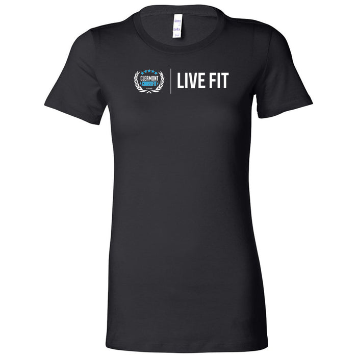 Clermont CrossFit - Live Fit - Bella + Canvas - Women's The Favorite Tee