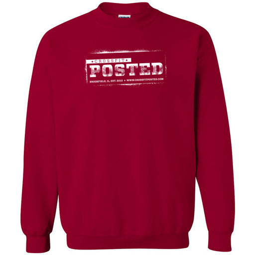 CrossFit Posted - 100 - Standard - Gildan - Heavy Blend Crewneck Sweatshirt