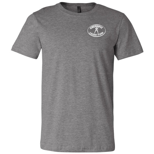 CrossFit Cedar Park - 100 - Pocket - Bella + Canvas - Men's Short Sleeve Jersey Tee