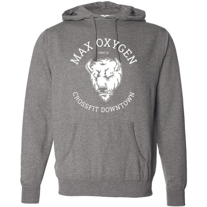 Max Oxygen CrossFit - 201 - Buffalo - Independent - Hooded Pullover Sweatshirt